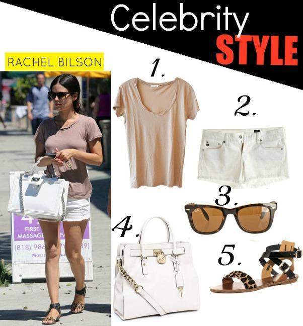Celeb Style: Rachel Bilson Comfy Chic Style