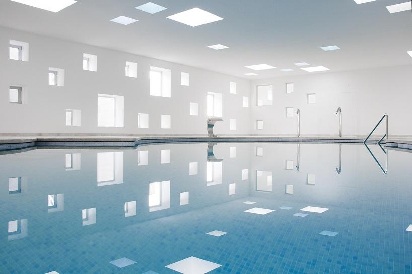 A2arquitectos: indoor pool for a hotel in majorca