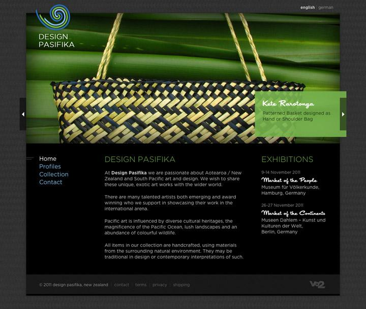 BENEK // Design Pasifika // Web Design