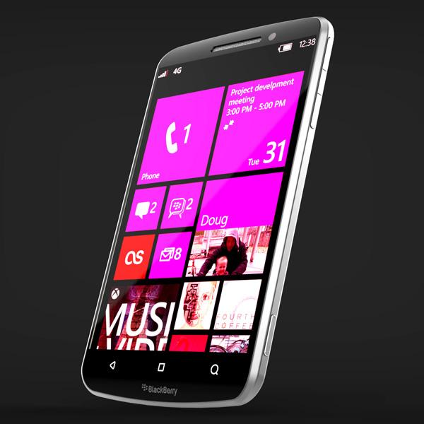 BlackBerry Smartphone with Microsoft Windows by Michal Bonikowski » Yanko Design