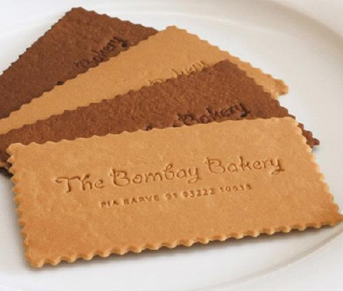 Business Card for: Bombay Bakery | The Best of Business Card Design