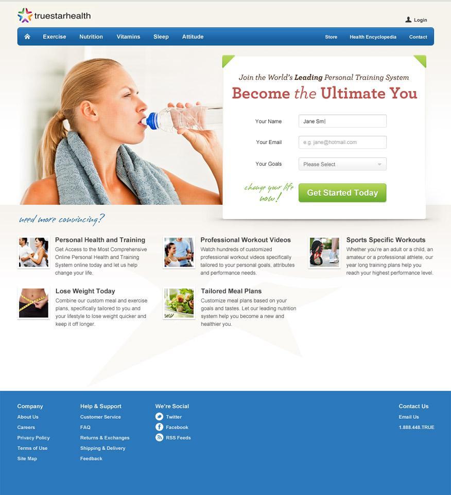 Truestar - Web Design