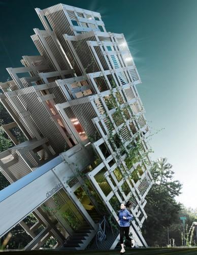 Timisoara's Highseat / Prechteck | ArchDaily