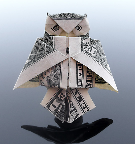 Dollar Bill Owl by ~craigfoldsfives