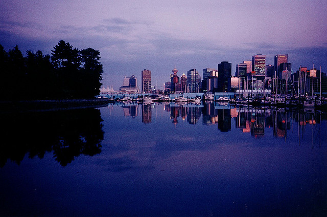 Vancouver Skyline 1992 | Flickr - Photo Sharing!
