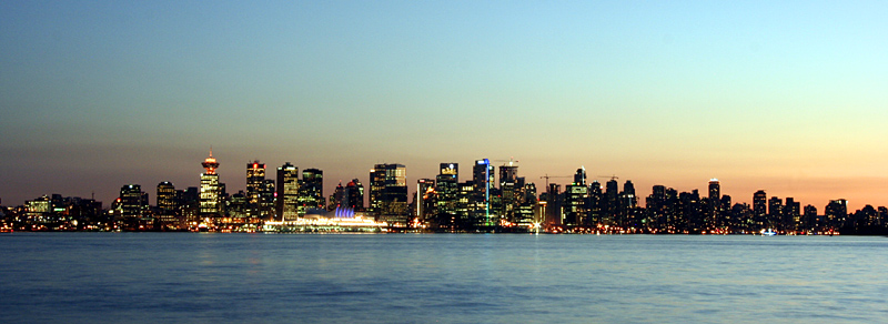 TrekLens | Vancouver Skyline Photo