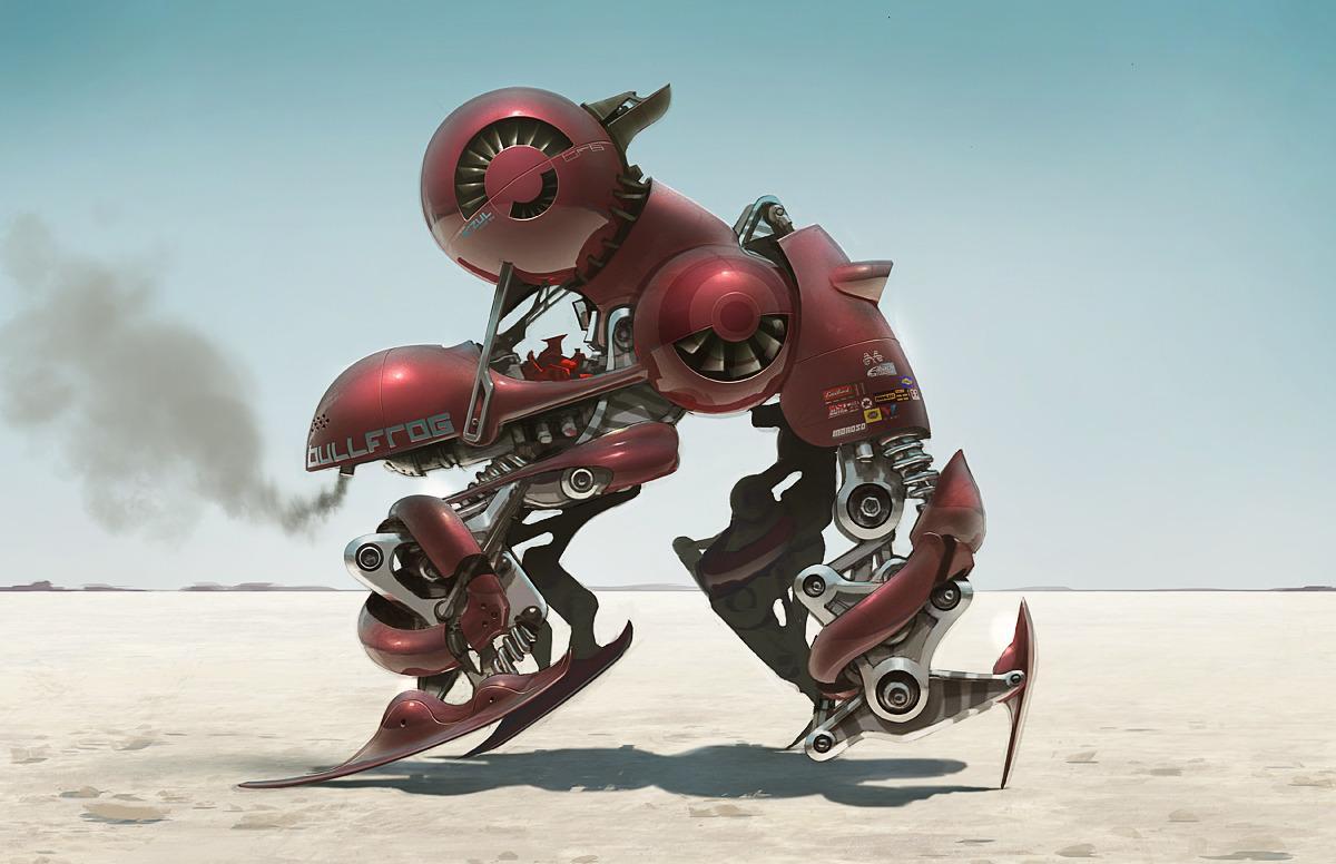 Bullfrog Bot - dannydraws