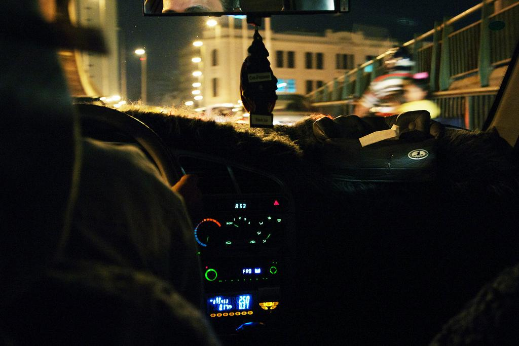 In The Taxi | Flickr - Photo Sharing!