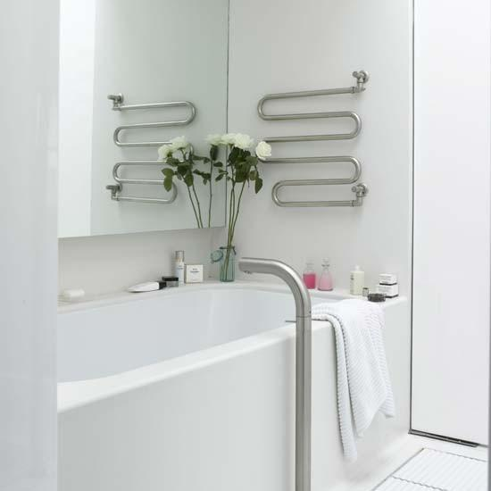 Clean-cut white bathroom | housetohome.co.uk