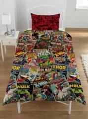 Home Sweet Home / Marvel bedspread