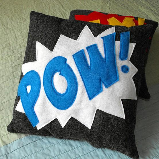 Home Sweet Home / POW Pillow Awesome addition to your home by nokomomo on Etsy