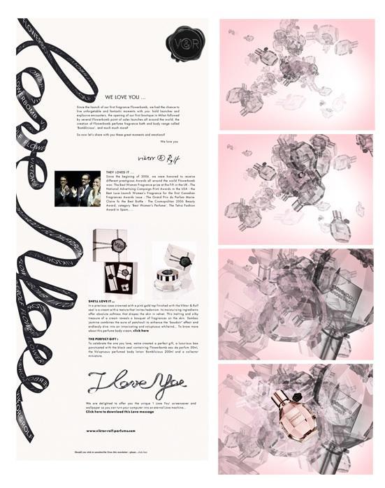 VIKTOR & ROLF PARFUMS - webdesign