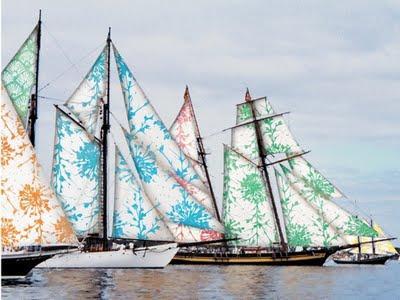 Ada and Darcy: Pretty sailing...