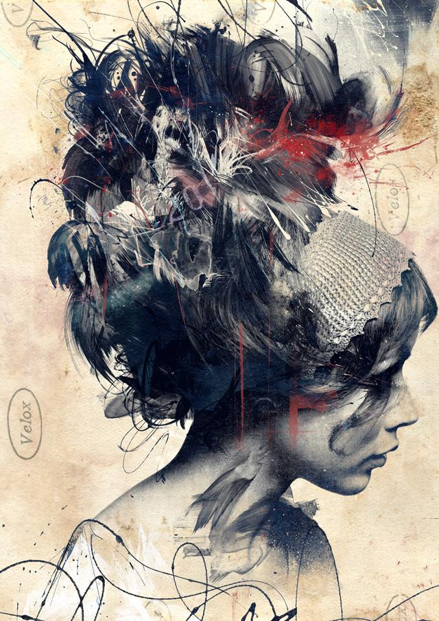 Digitally Assembled Paintings by Russ Mills | Colossal