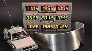 Someone Please Make Me This Back to the Future DeLorean Clock