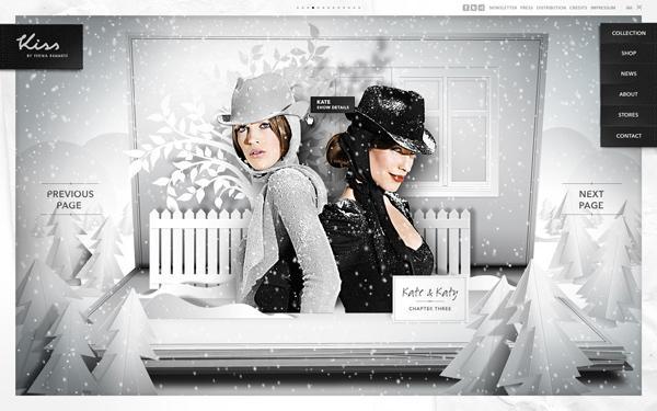 Site Web / Kiss par Fiona Bennett sur le réseau