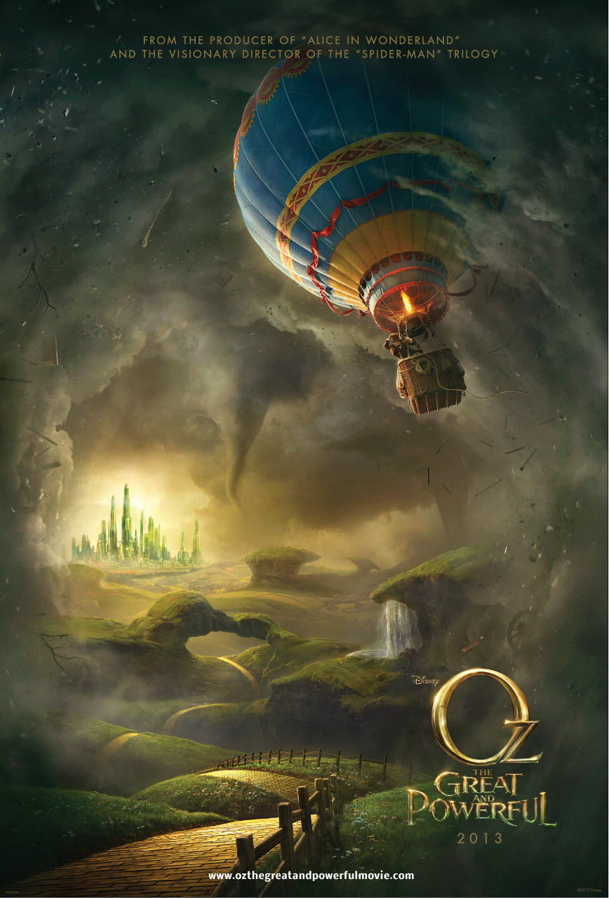 Oz: The Great and Powerful Official Poster | Oz the Great and Powerful (2013)