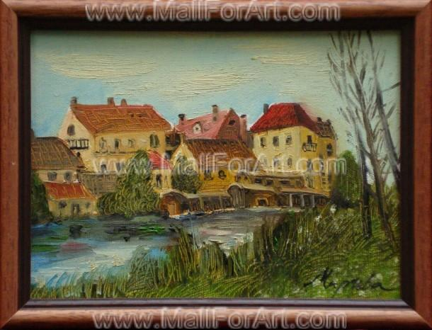 9 Amazing Landscape Oil Paintings by Mariva