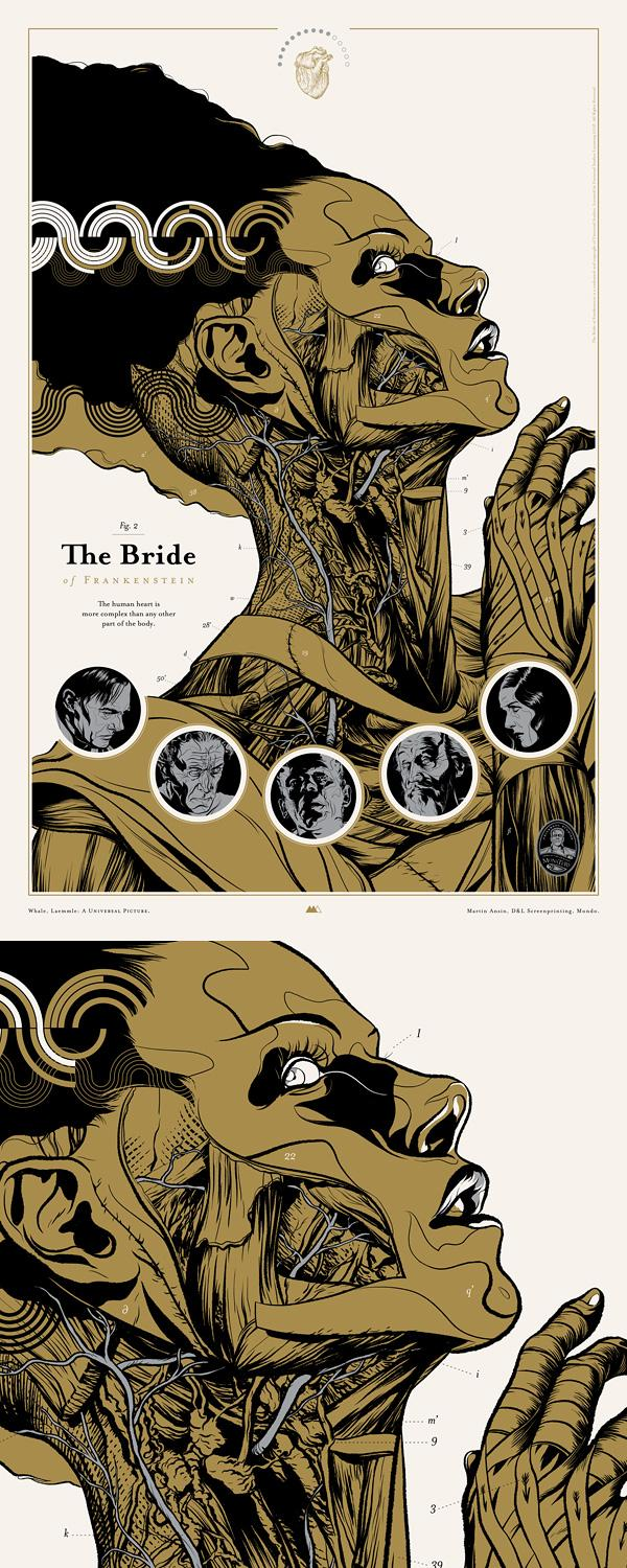 Martin Ansin Portfolio - The Bride of Frankenstein / Gerald & Cullen Rapp