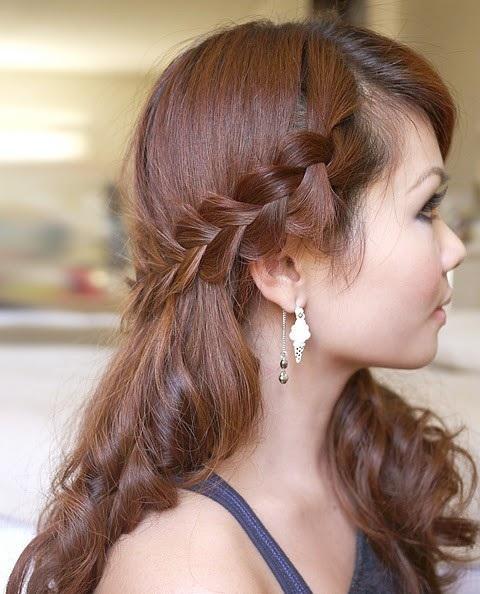 side nave hairstyle - StyleCraze