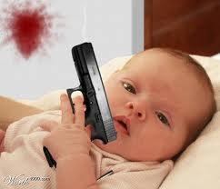 babies with guns - Google Search