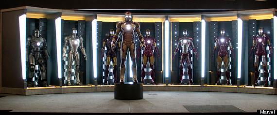 'Iron Man 3' Suit, Stunt Footage Revealed