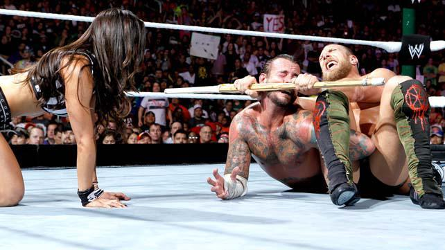 WWE.com: WWE Champion CM Punk def. Daniel Bryan in a No Disqualification Match