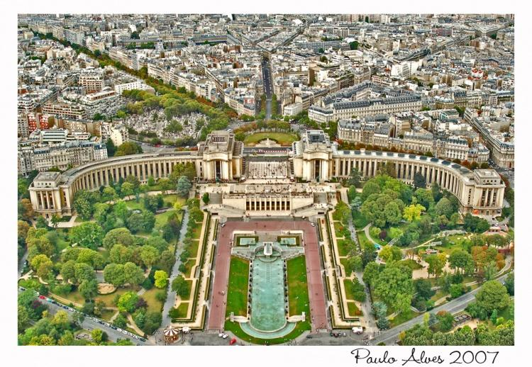 A Vista da Torre Eiffel