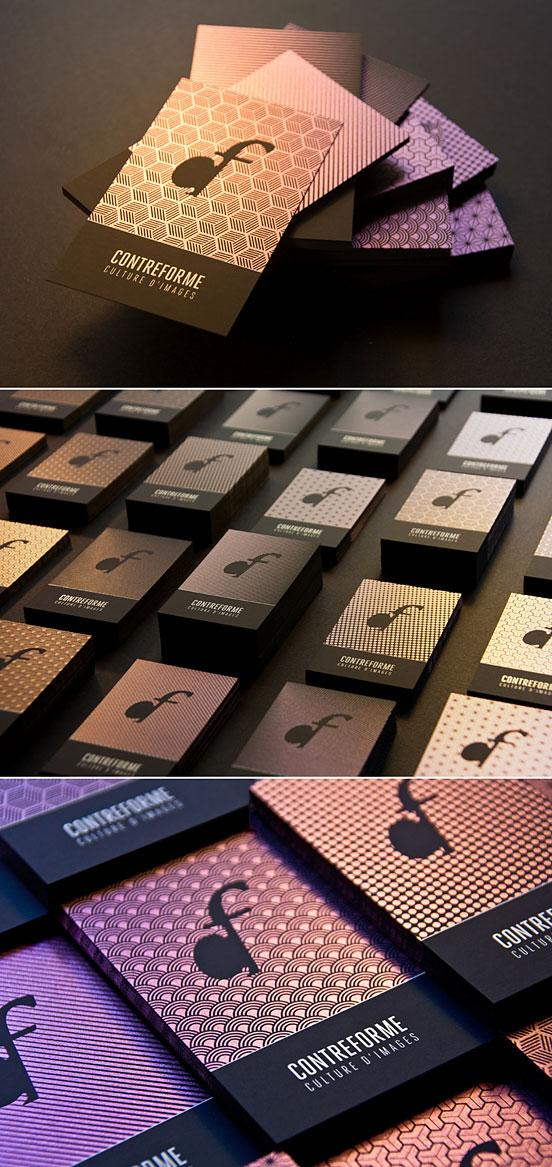 Contreforme Business Cards | Business Cards | The Design Inspiration