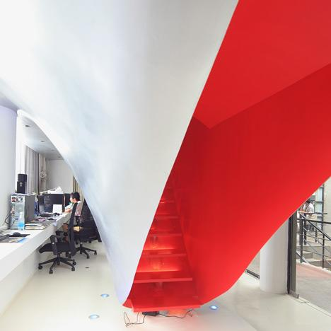 Red Town Office by Taranta Creations - Dezeen