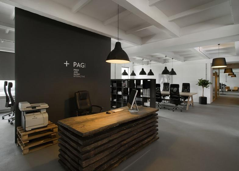 Pride&Glory Interactive office by Morpho Studio - Dezeen