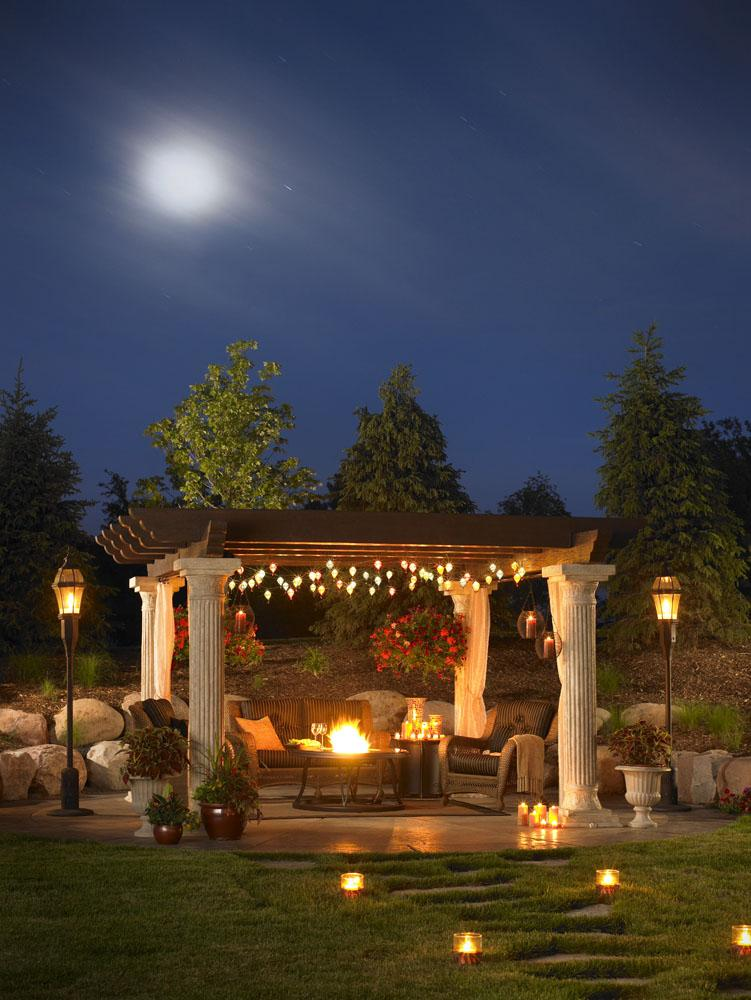 Outdoor Great Room | 14x14 Tuscany Pergola TUSCANY-II | Sale