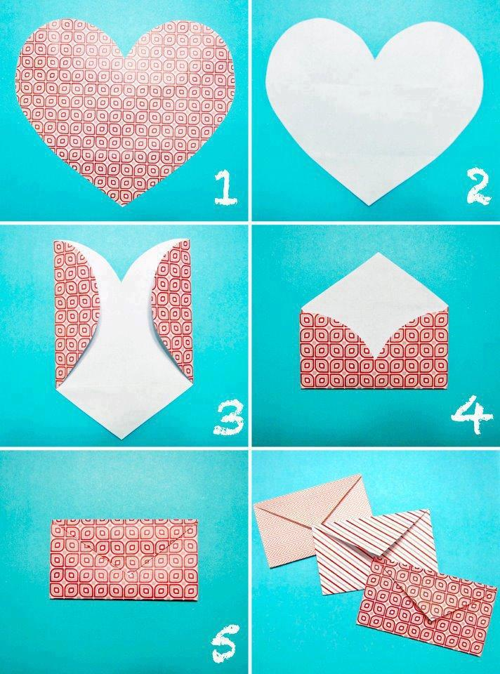 Как сделать из бумаги что-нибудь маме