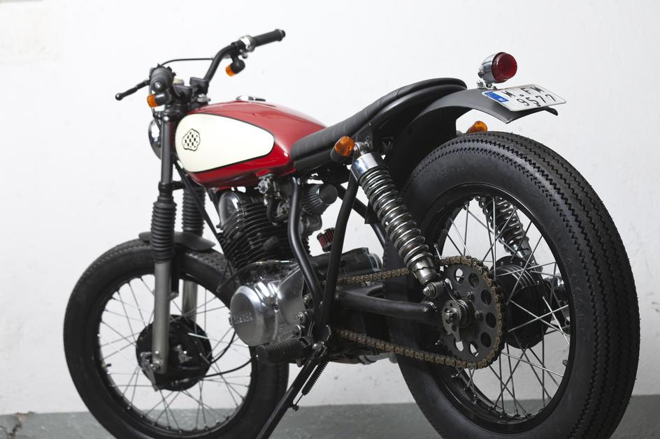 Yamaha SR 250 - CRD#4 Just4Girls / Encargos de otros clientes / motos / Home - Cafe Racer Dreams