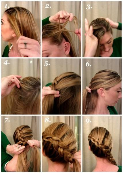 easy steps to get croco hairstyle - StyleCraze