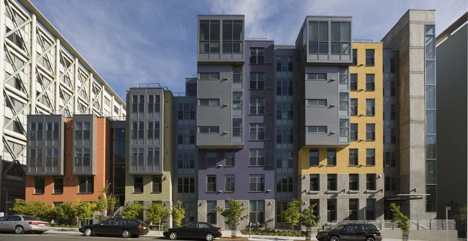 Residence Halls Units 1 & 2 Infill Student Housing | EHDD