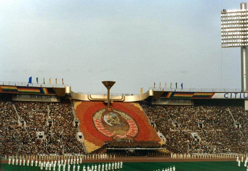 Foreign Tourists At the Moscow Olympic Games - English Russia