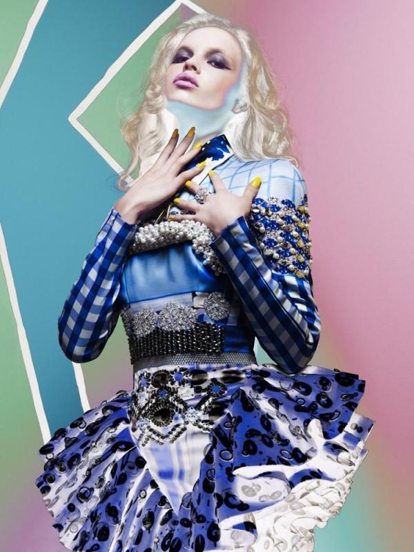 V Spain #13 Summer 2012 by Daniel Sannwald | Trendland: Fashion Blog & Trend Magazine