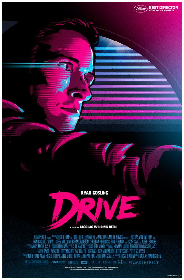 Unofficial DRIVE movie poster