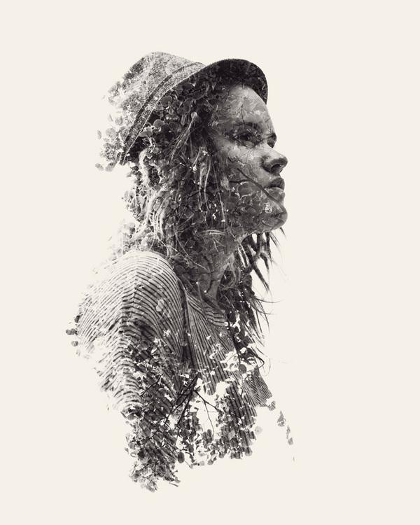 Christoffer Relander's Multiple Exposure Portraits Vol. II | Trendland: Fashion Blog & Trend Magazine