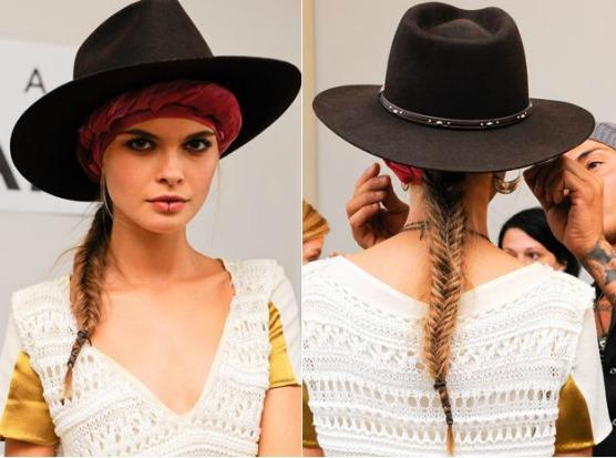 Fishtail Braid How-To: Pamela Love S/S 2012
