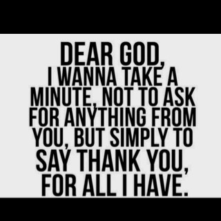 my faith / Thank You God