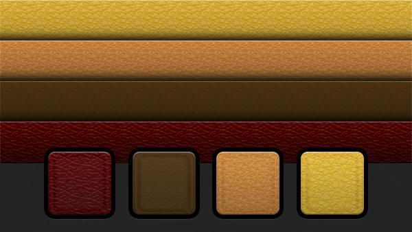 4 Leather Photoshop Patterns | PixelsDaily