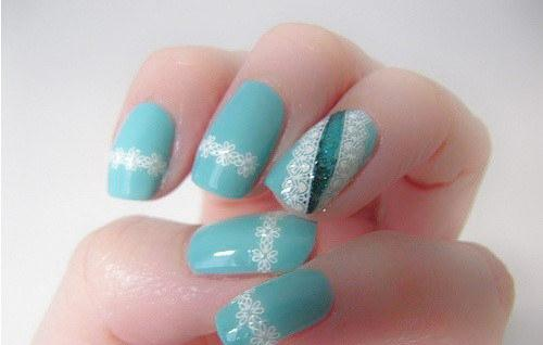 soft look nail art - StyleCraze