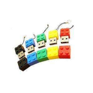 Amazon.com: 4GB Lego Style USB Flash Drive with Key Chain,(Black): Electronics