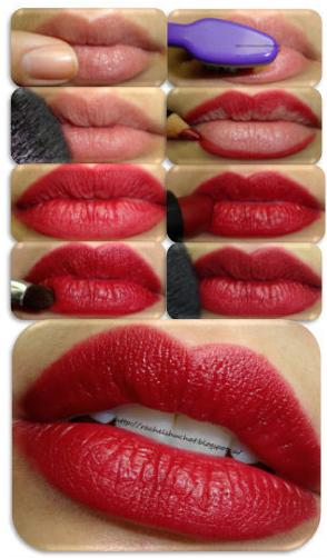 THE PERFECT LONG LASTING RED LIP TUTORIAL - StyleCraze