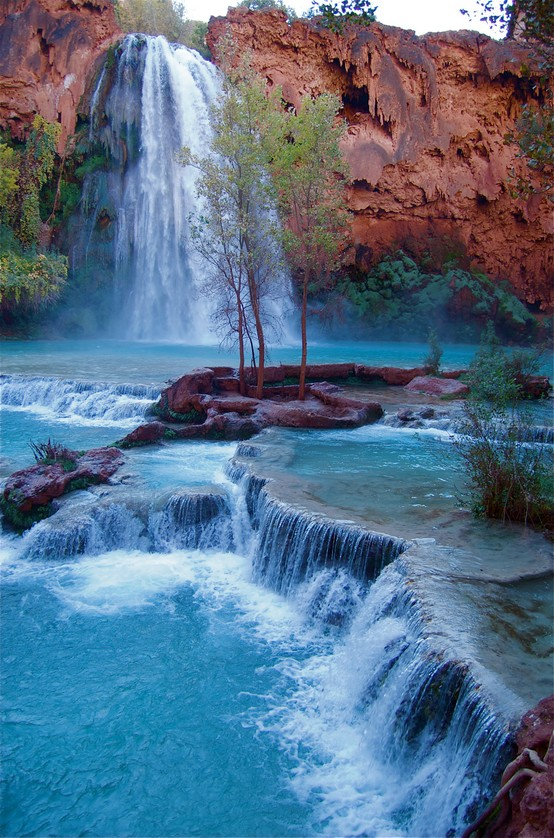 Peaceful Photographs / Havasu Falls ~ Grand Canyon National Park