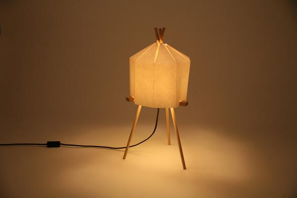 Paper Lamp by Milk Design Limited » Yanko Design