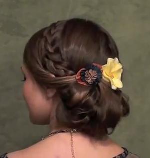 flattering braid - StyleCraze