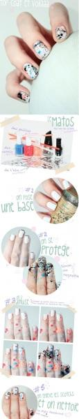 top coat nail art - StyleCraze